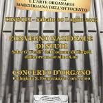La famiglia Cioccolani di Cingoli e l'arte organaria marchigiana dell'Ottocento - convegno nazionale di studi