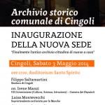 L'Archivio Storico Comunale di Cingoli di nuovo a casa