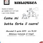 Nati per Leggere a Cingoli - 2° incontro - mercoledì 9 aprile 2014