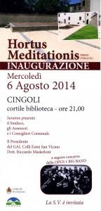 inaugurazione - agosto 2014