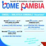 COME CAMBIA...